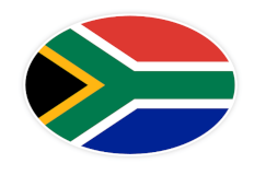 South African flag image